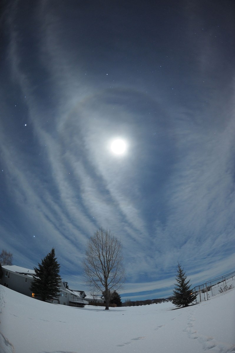 Wave Clouds and Halo