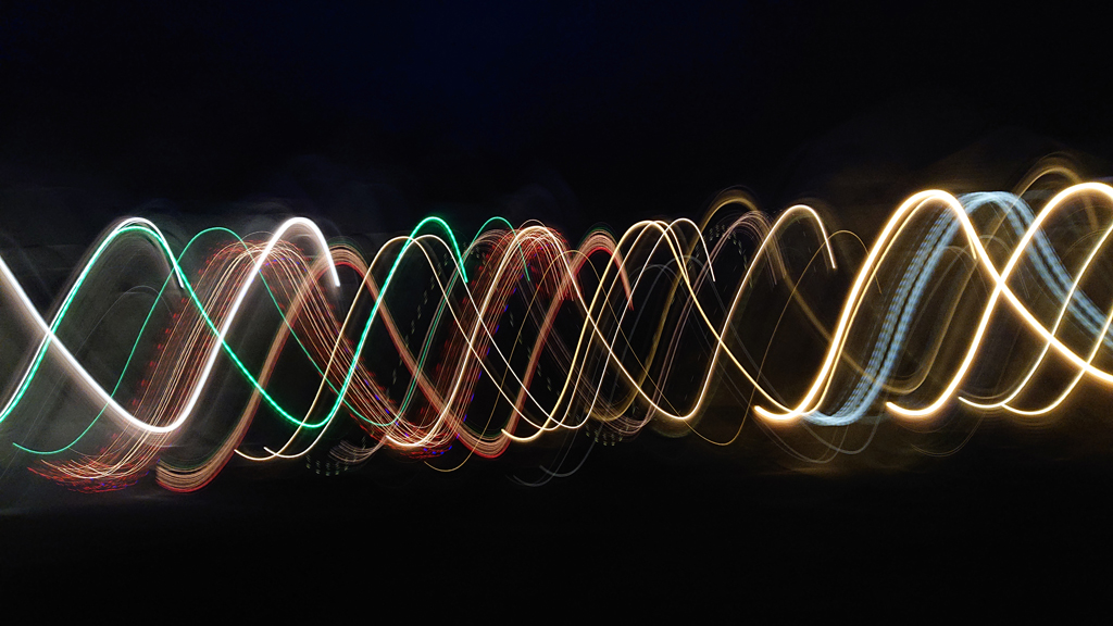 A light painting