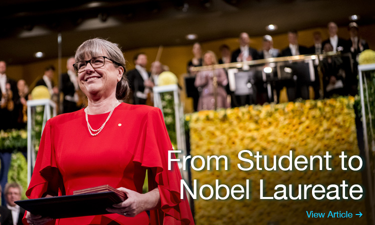 From Student to Nobel Laureate