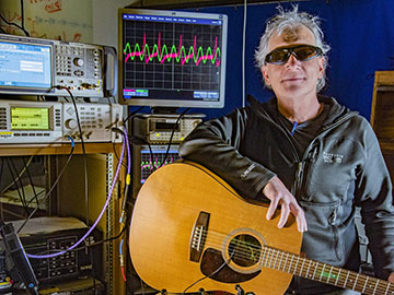 Recording a Riff with Lasers and Atoms