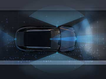 Many Optical Avenues to One Autonomous-Vehicle Goal