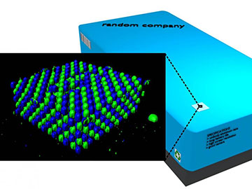 Boosting Security with 3-D Microstructures
