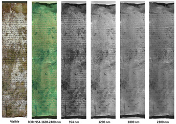 images of parchment investigated