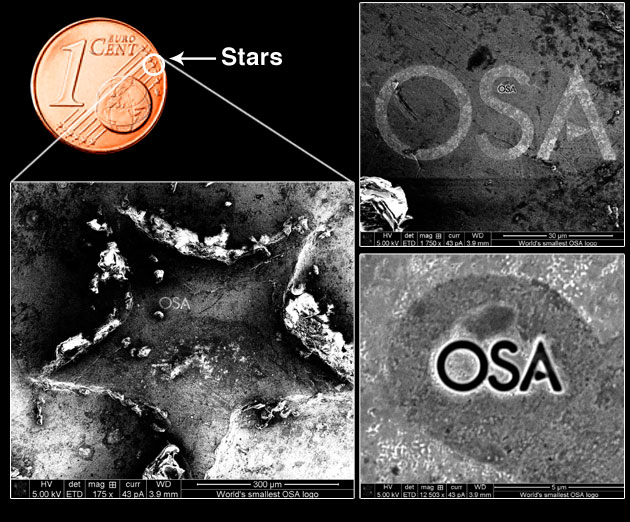 World's Smallest OSA Logo