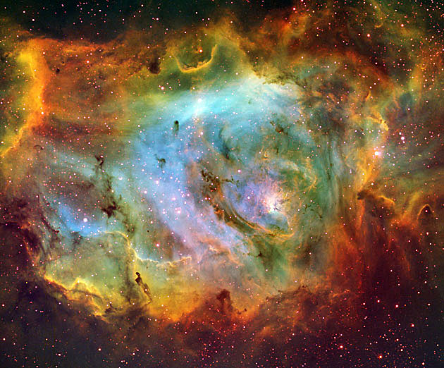 Messier 8 Emission Nebula