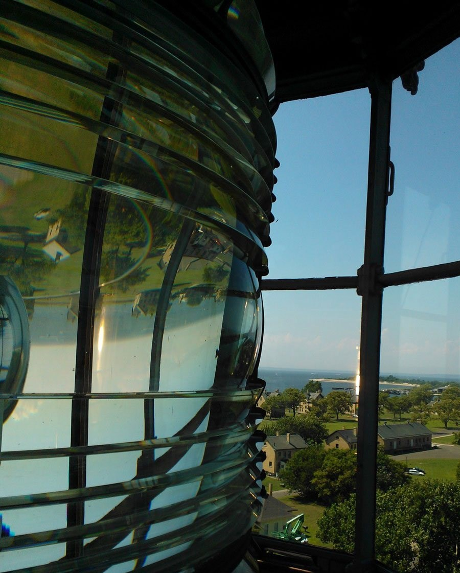 Through the Fresnel Lens