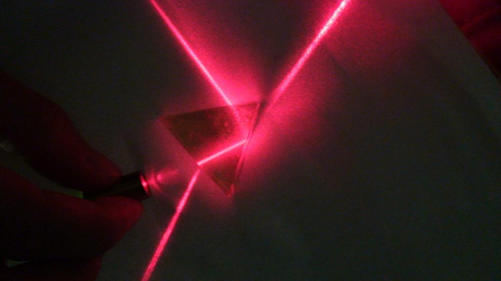 Red Gelatin Prism