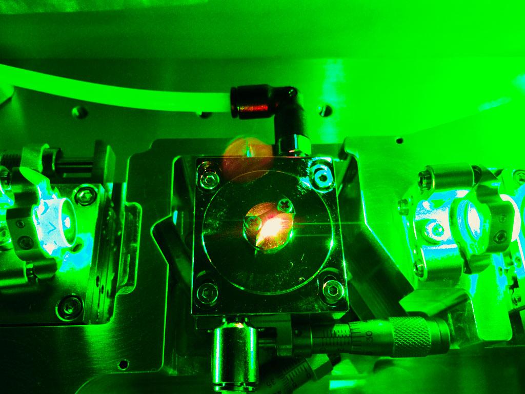 Laser cavity