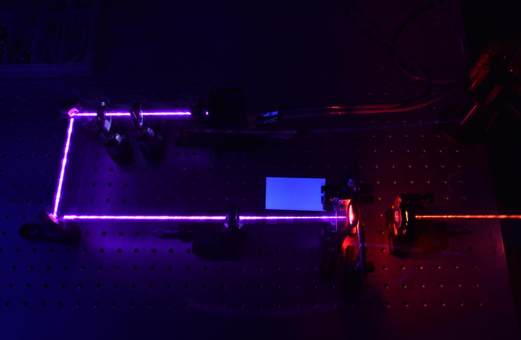 Laser diode ruby laser