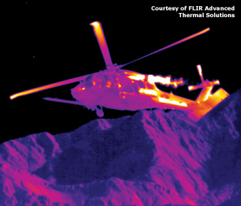 Seeing in the Dark: Defense Applications of IR imaging